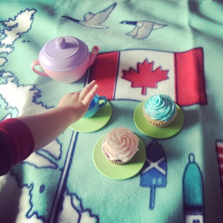 Tea parties at home