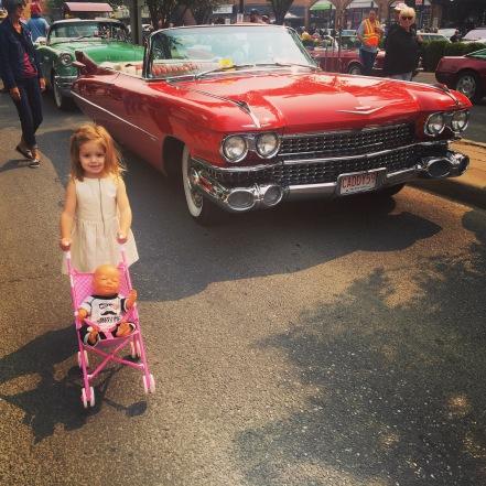 I love Cadillacs